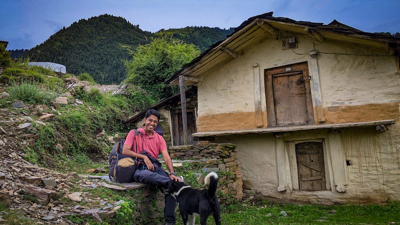 dogri mudhouse in Gattadhar valley